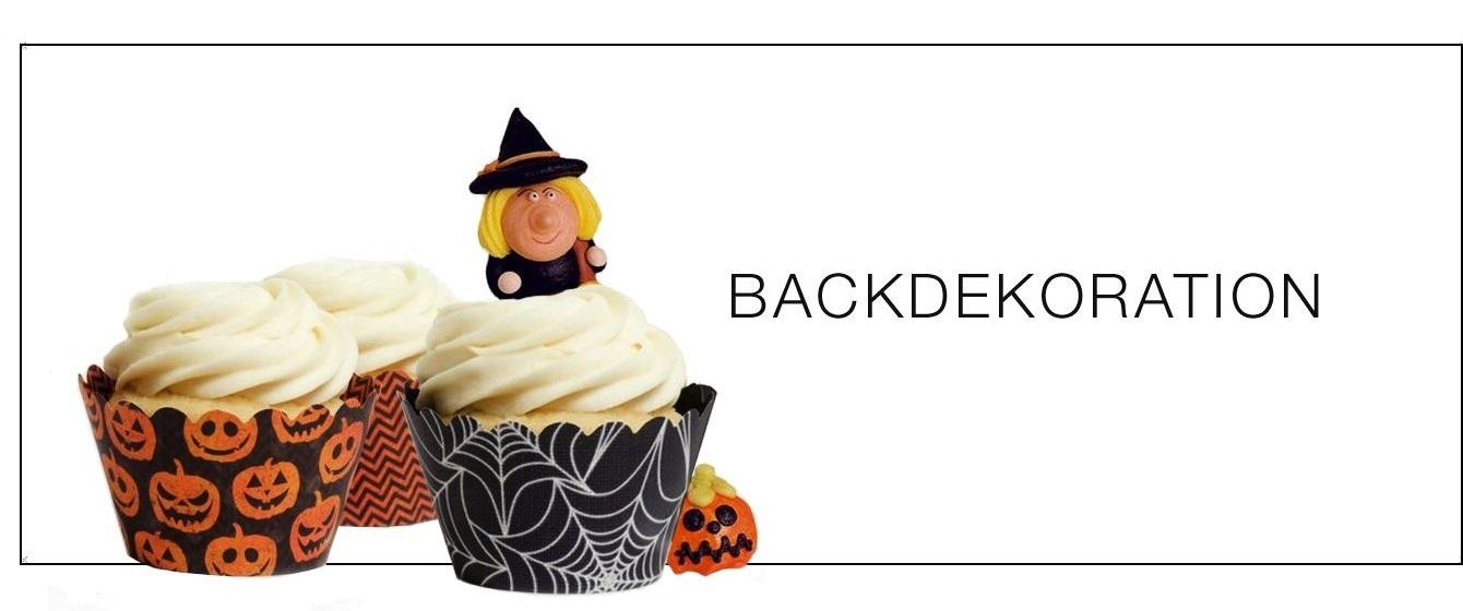 Halloween Backdeko