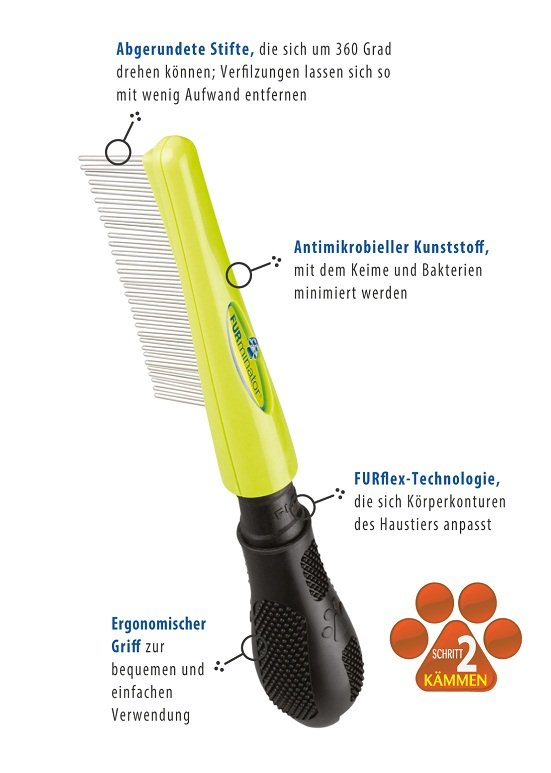 FURminator Finish Kamm