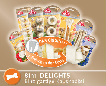 8in1 Delights Hundesnacks