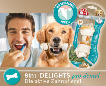 8in1 Delights pro dental Hundesnacks