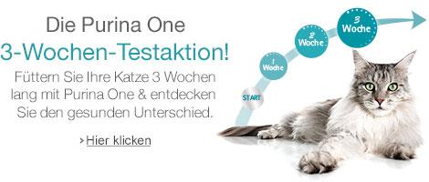 Purina One 3-Wochen-Testaktion
