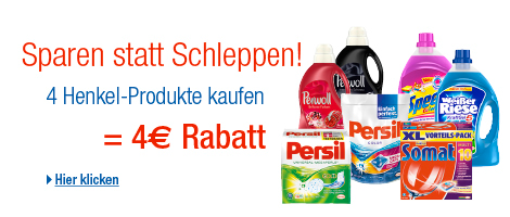 Henkel Rabatt bei Amazon