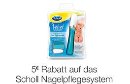 5 EUR Rabatt auf das Scholl-Nagelpflegeset