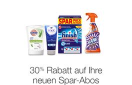 30% auf Produkte im Spar-Abo