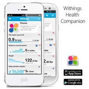 Health Companion App von Withings