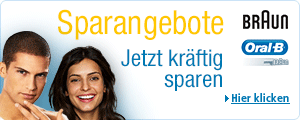 Sparangebote Braun und Oral-B