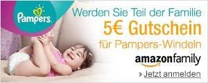 5 EUR Gutschein f�r Pampers-Windeln