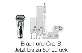 Braun und Oral-B Geschenkpackungen
