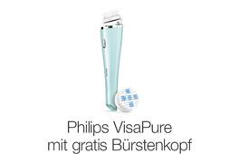 VisaPure Gesichtsreinigungsbürste kaufen und Bürstenkopf gratis erhalten