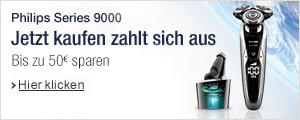 Philips Series 9000 - 50 EUR sichern