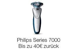 Philips-Rasierer: Jetzt bis zu 50€ Geld-zurück sichern