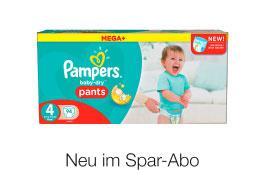 Jetzt neu Baby Dry Pants, mit 20% in Spar Abo