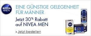 30% Rabatt auf Nivea Men Artikel