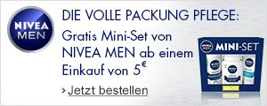 Nivea Men Mini-Set gratis sichern