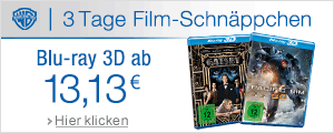 3D Blu-rays ab 13,13 EUR
