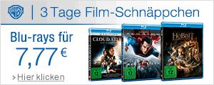 Blu-rays je 7,77 EUR