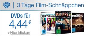 DVDs je 4,44 EUR