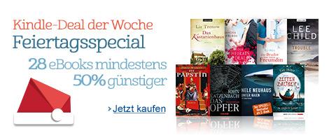 Kindle-Deal der Woche Weihnachtsspecial