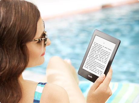 feature beach. V385944873  Kindle Paperwhite 3G, 15 cm (6 Zoll) hochauflösendes Display mit integrierter Beleuchtung, Gratis 3G + WLAN