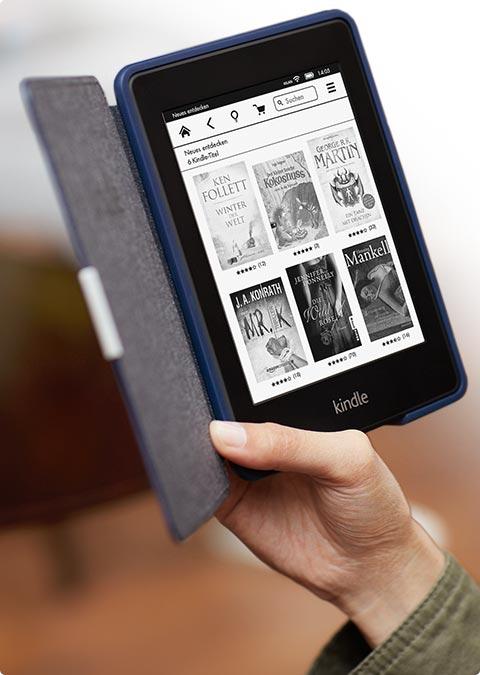 feature shop. V385944870  Kindle Paperwhite 3G, 15 cm (6 Zoll) hochauflösendes Display mit integrierter Beleuchtung, Gratis 3G + WLAN