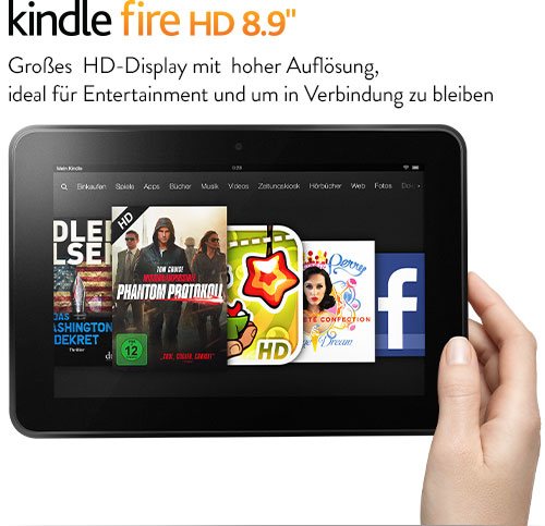 Kindle Fire HD 8.9-Tablet