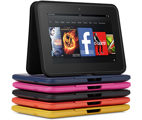 feature accessories. V389727237  Kindle Fire HD, 17 cm (7 Zoll), Dolby Audio System, Dualband WLAN, 32 GB   Mit Spezialangeboten