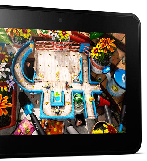 feature hardware. V389682938  Kindle Fire HD, 17 cm (7 Zoll), Dolby Audio System, Dualband WLAN, 16 GB   Mit Spezialangeboten