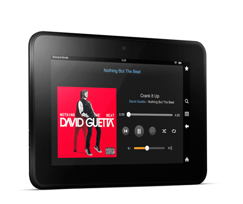 feature music. V389678778  Kindle Fire HD, 17 cm (7 Zoll), Dolby Audio System, Dualband WLAN, 16 GB