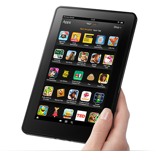 Kindle Fire: Apps und Spiele