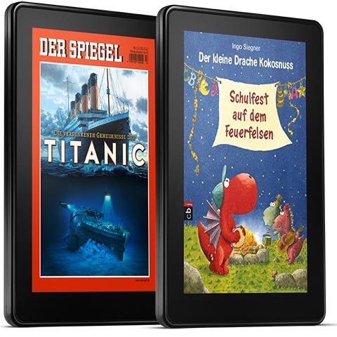 feature books. V389377580  Kindle Fire, 17 cm (7 Zoll), LCD Display, WLAN, 8 GB   Mit Spezialangeboten