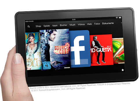 feature hardware. V389715915  Kindle Fire, 17 cm (7 Zoll), LCD Display, WLAN, 8 GB