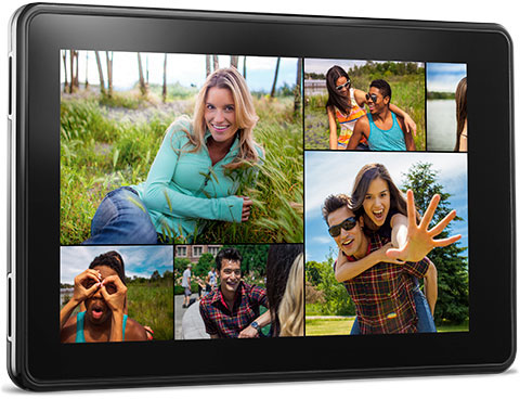 feature photos. V389377580  Kindle Fire, 17 cm (7 Zoll), LCD Display, WLAN, 8 GB   Mit Spezialangeboten