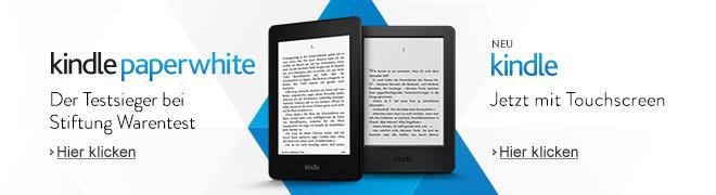 Kindle eReader: einfach besser lesen