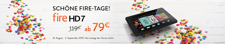 Fire HD 7, ab nur 79 EUR