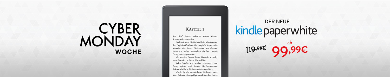 CyberMonday Woche: -20 EUR auf Kindle Paperwhite