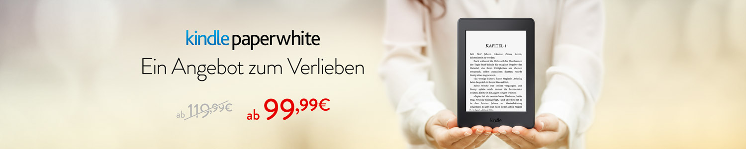 -20 Eur auf Kindle Paperwhite
