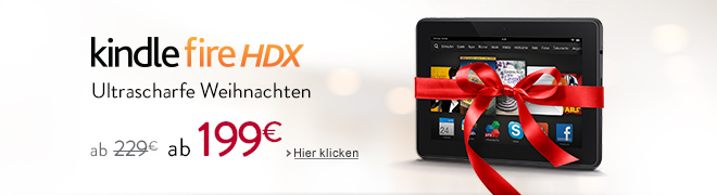 Kindle Fire HDX: ultrascharfe Weihnachten