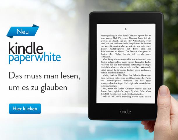 Kindle Paperwhite: Das muss man lesen, um es zu glauben
