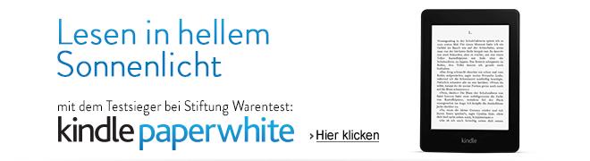 Kindle Paperwhite: jetzt ab 109 EUR