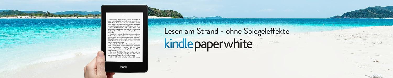 Kindle Paperwhite: Lesen am Strand - ohne Spiegeleffekte