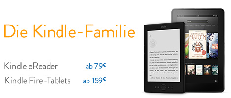 Die Kindle-Familie