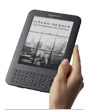 Kindle in der Hand