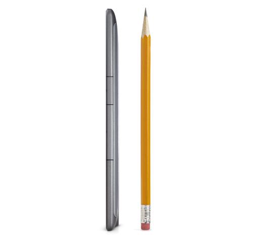 Kindle eReader: Breite im Vergleich zu einem Bleistift