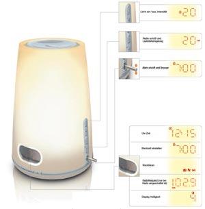 Philips Wake-up light HF3471