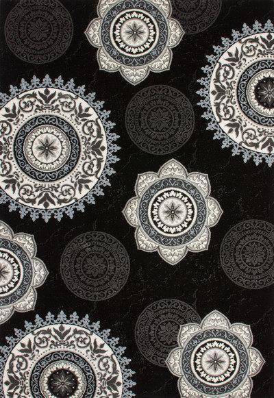 Lalee 347170449 Designer Teppich  Muster  Kreise