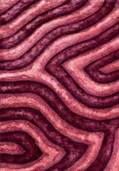 Lalee 347157075 Teppich Avantgarde 302, 120 x 170 cm, rosa
