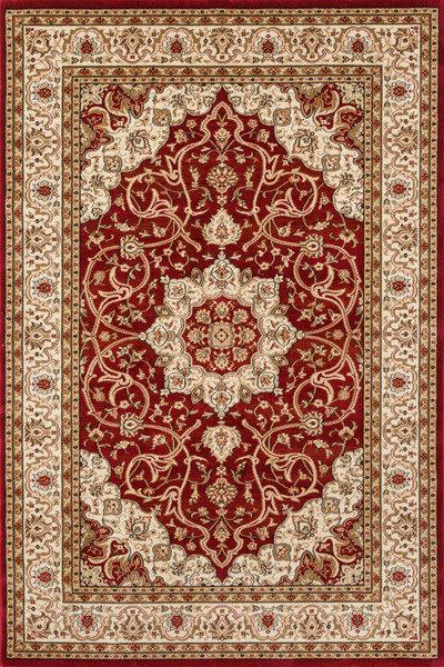 Lalee 347106448 Klassischer Teppich  Orientalisch  Rot