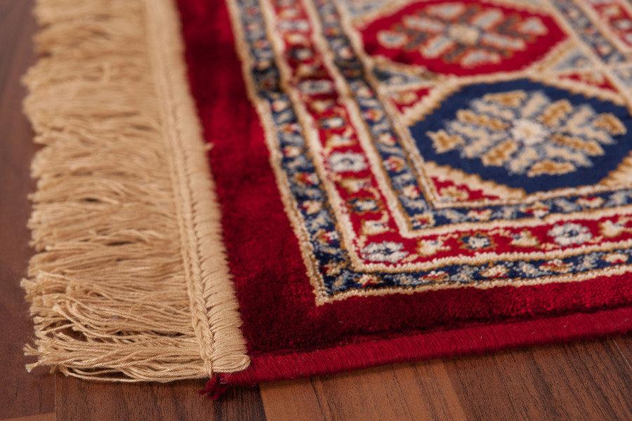lalee 347048243 klassischer teppich mit fransen weich. Black Bedroom Furniture Sets. Home Design Ideas