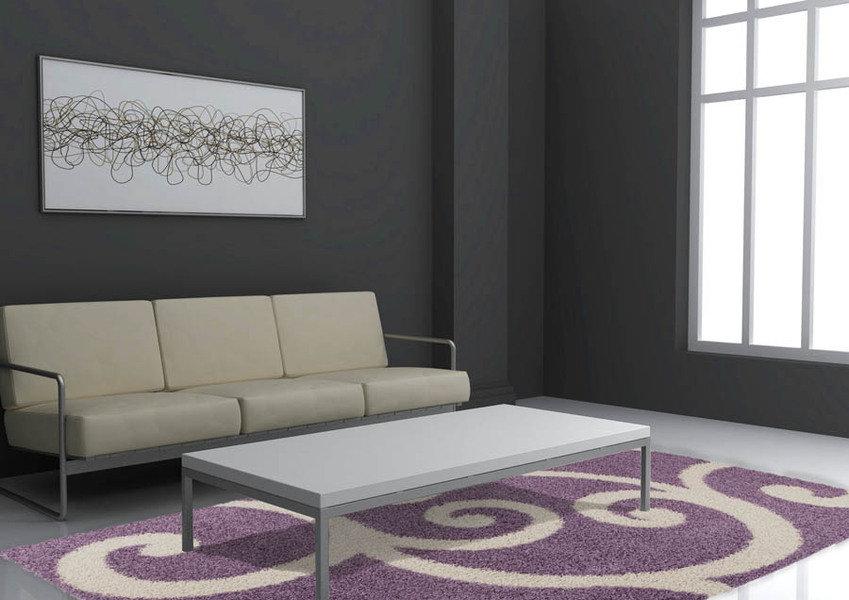 Lalee 347126491 Teppich Joy 106 violett 160 x 230 cm