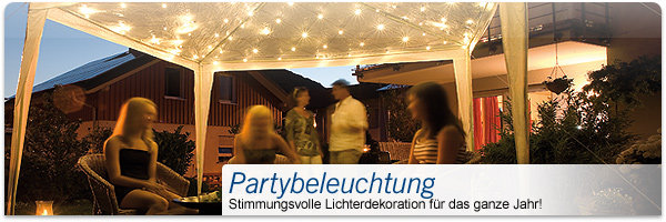Partybeleuchtung